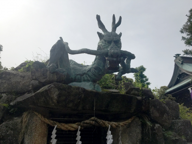 弁財天と五頭龍の伝説
