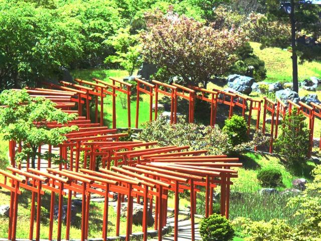千本鳥居は厳かではなくどこか可愛らしい雰囲気、SNS映えで有名