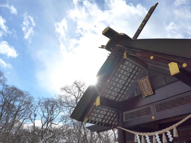 釜加神社で弁財天のご加護を
