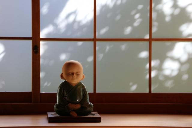 縁切寺の様子を伝える資料館