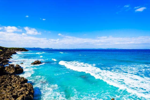 イシキ浜は琉球の農耕始まりの地