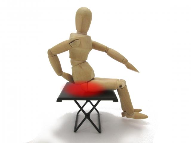 疣石に座って疣や痔を治す