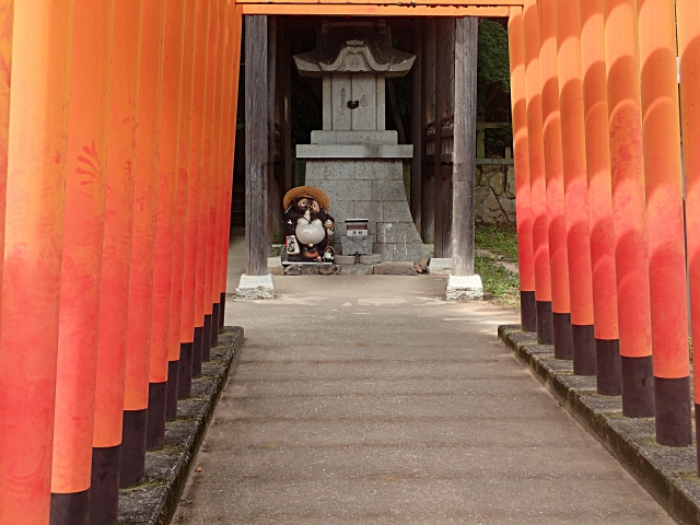 弘法大師を案内した太三郎狸