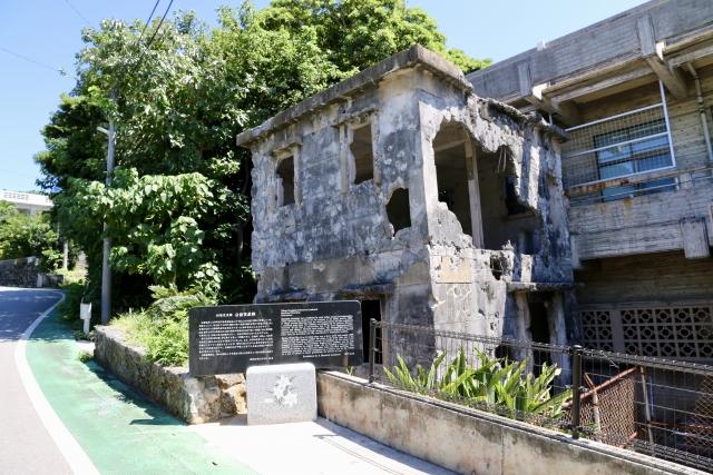 沖縄戦では多数の住民の命を救った