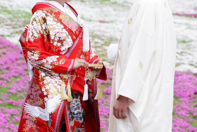 嫁見まつりで華やかな花嫁衣装行列