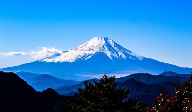 日の出石に富士山のエネルギーを