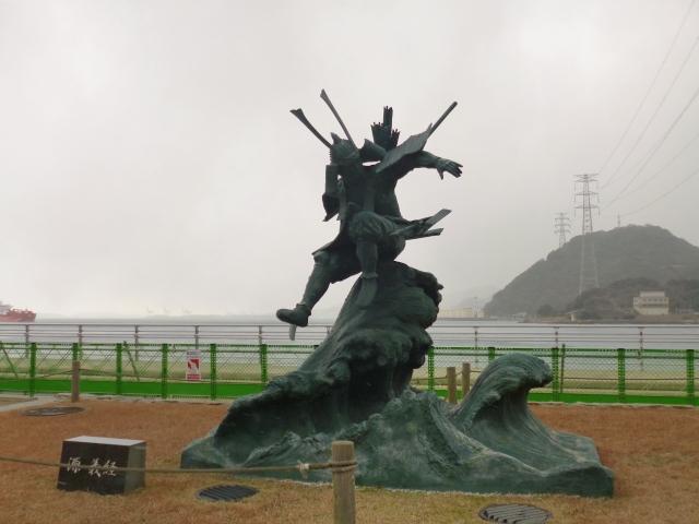 義経が訪れた戦勝祈願神社